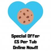 Edible Cookie Dough Now £5 a Tub