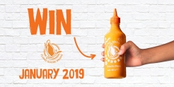 Win a selection of Sriracha Mayo from FlyingGoose Sriracha